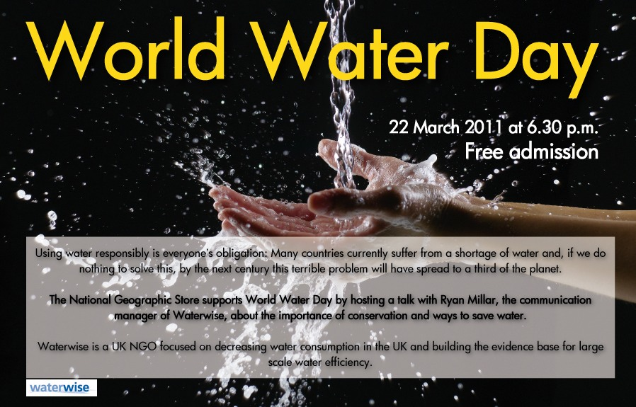 Double-Gigging for World Water Day