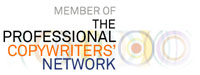member of professional copywriters network logo
