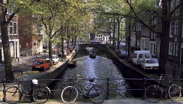 The first few days in Amsterdam