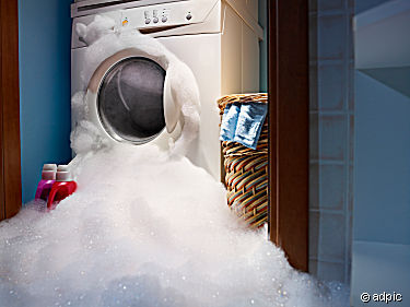 How can you tell if a washing machine works or not?