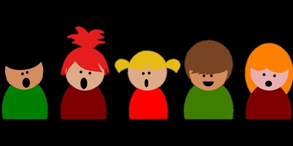 singing kids