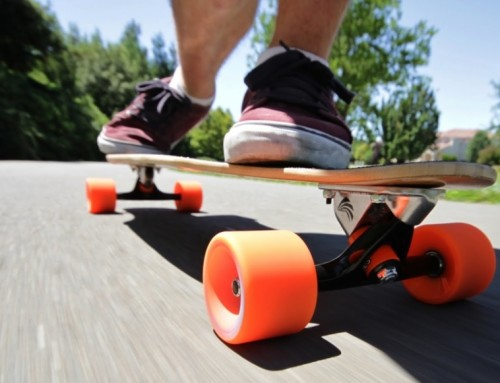 Four notes on lifelong learning, longboard edition