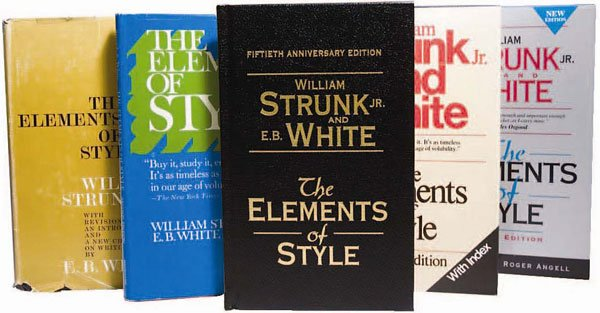 copies of elements of style