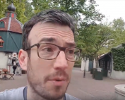 ryan at efteling talking to the camera
