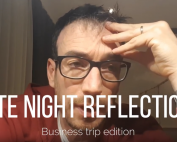 ryan millar late night refelections parenthood