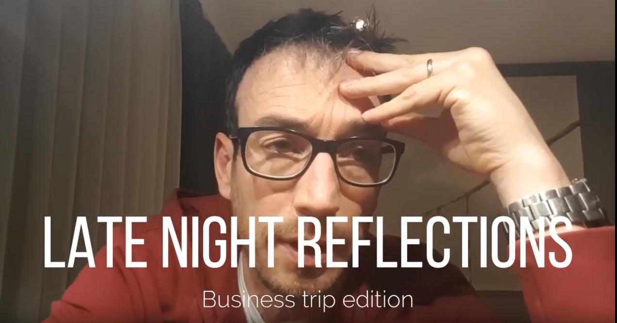 ryan millar late night refelections parenthood